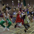 CG Dance competition in Colchester at the Garrison Sports Centre