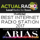 Actual Radio - Local radio for Colchester shortlisted in the National Radio Awards