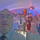 Back at Leez Priory as wedding DJ in Essex for a rock themed wedding party