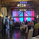 Fashion show lighting and sound at Channels wedding venue in Chelmsford Essex